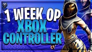 Ik speel 1 WEEK op een XBOX CONTROLLER en ik ben nu ZO GOED...