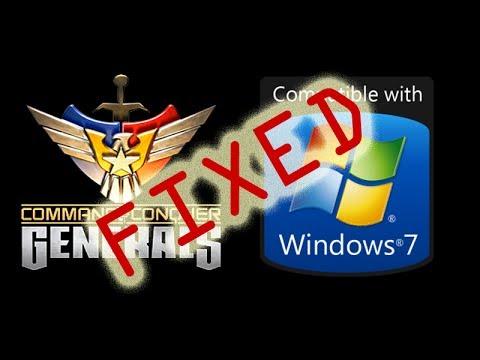 C&C Generals Fix for Windows 7 2014