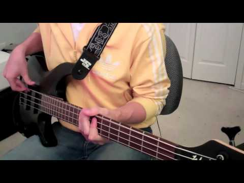 Maroon 5 - Moves Like Jagger {Bass Cover} HD