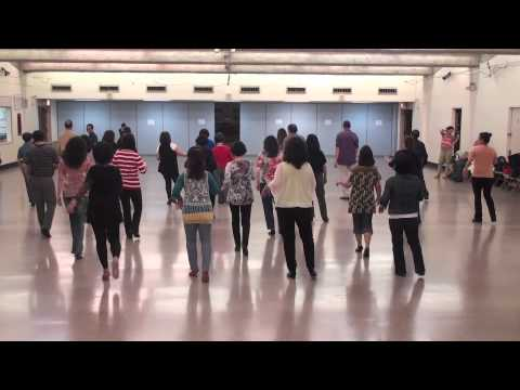 filipino line dancing - YouTube