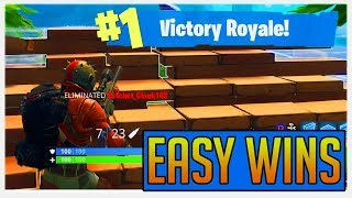HOW TO GET EASY WINS USING THE CIRCLE TARGET STRATEGY! (FORTNITE BATTLE ROYALE)