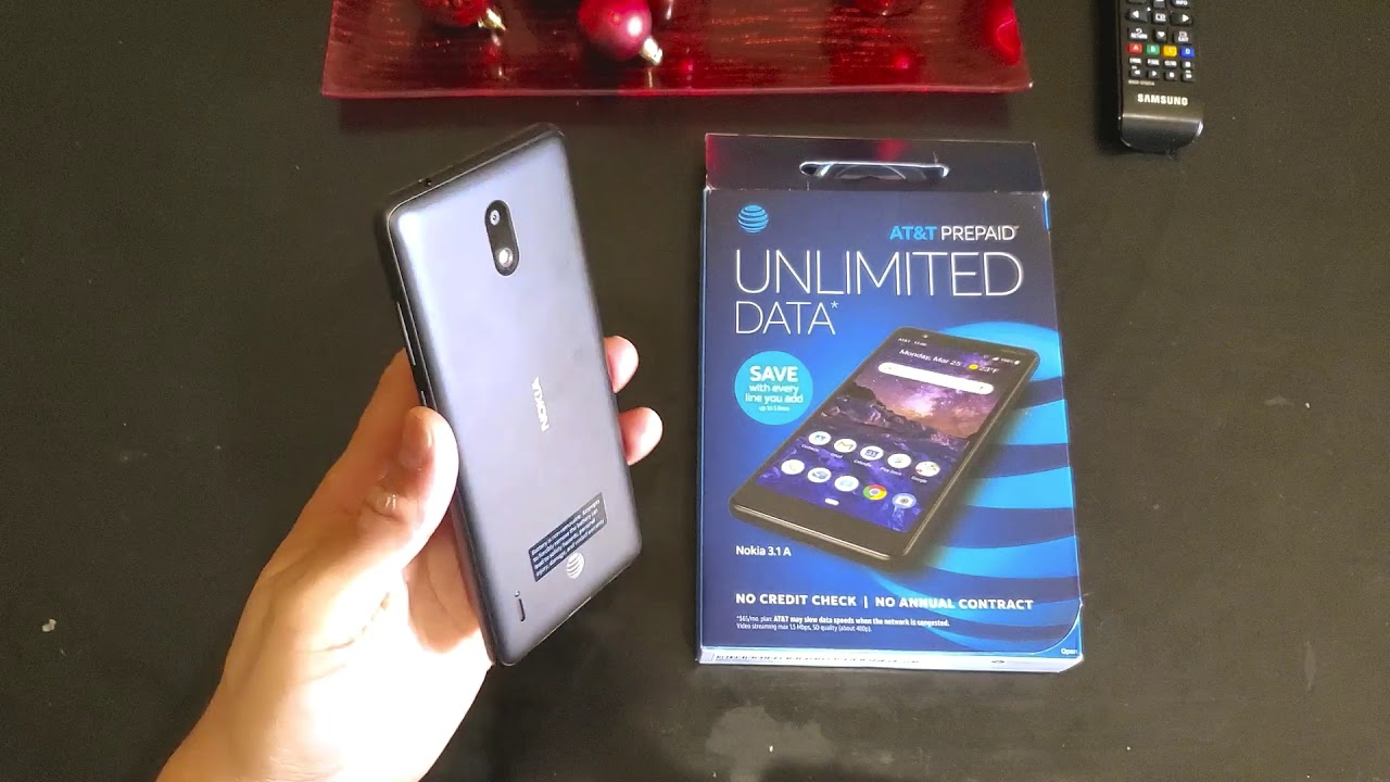 Review Nokia 3.1A - key features