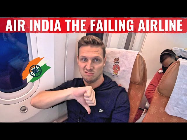 Review: AIR INDIA 787 in Economy Class - THE FAILING AIRLINE!