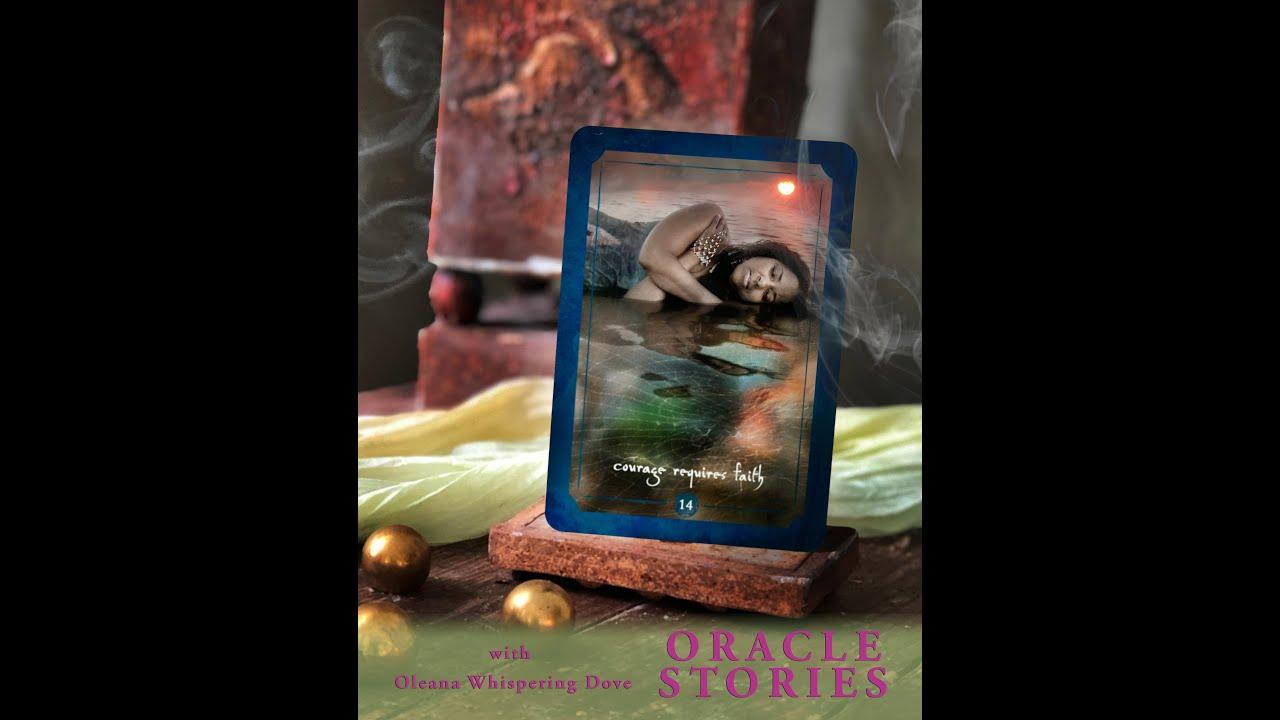 ORACLE Stories Goddess Musings