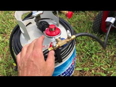 Generator Propane Conversion-No Kit