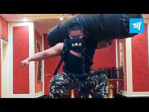 Hardest Chinese Workouts - Han Laoshi | Muscle Madness