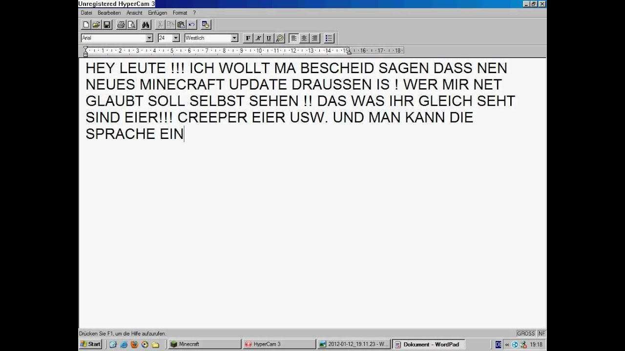 neues wordpad
