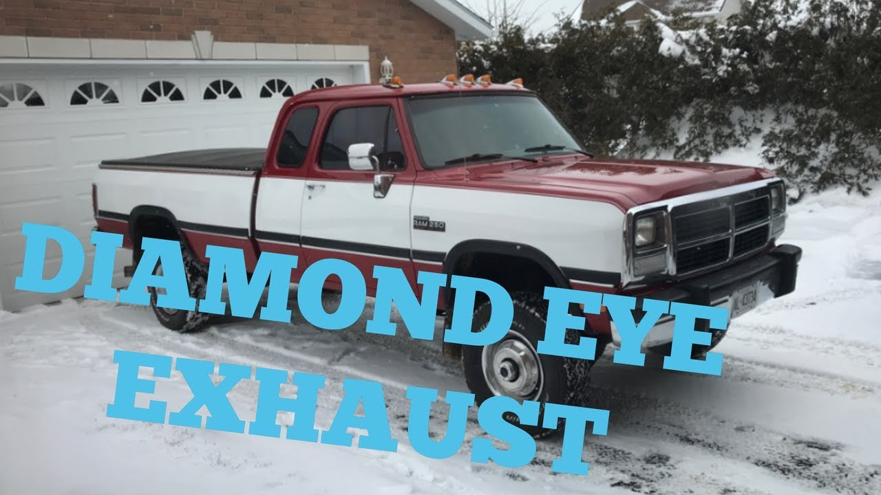 1st Gen Cummins Diamond Eye Exhaust Install