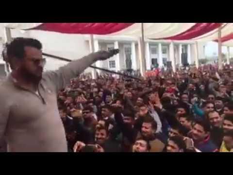 Natti King kuldeep sharma super hit show with huge crowd