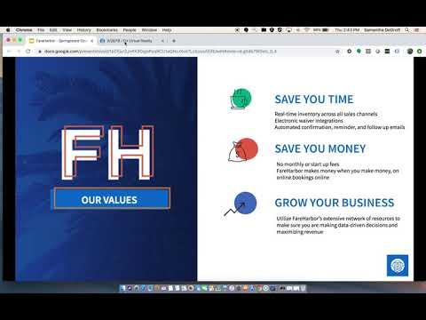FareHarbor Booking Integration Live Demo