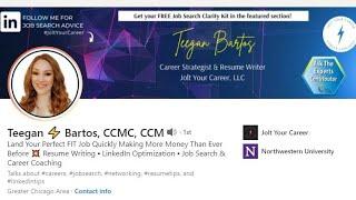IT: Career Coaching|Tech Resume Writing (Teegan ⚡ Bartos)