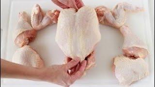 как правильно разделать курицу Разделка курицы на части по простому