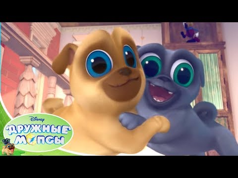🐾 Дружные мопсы - Серия 1 Сезон 1 - Мультфильмы Disney