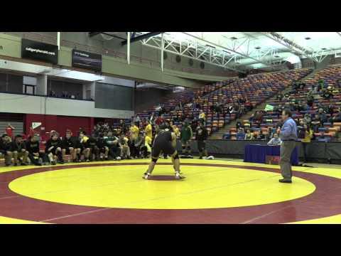 2015 Canada West Championships: 90 kg Brad Hildenbrandt vs. Emery Wilson