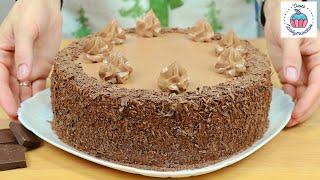 Шоколадный ТОРТ ТРЮФЕЛЬНЫЙ потрясающий вкус