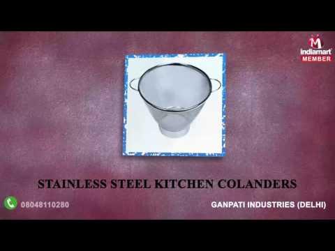 Stainless Steel Covers And Sieves By Ganpati Industries, Delhi