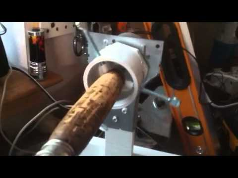 Rod dryer home made youtube for Make your own fishing rod