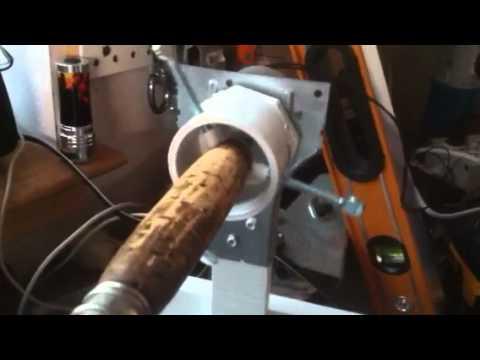fishing pole wrapping machine