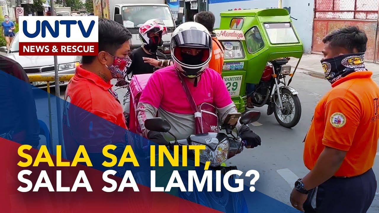 Hindi umano pagpapasok ng mga online delivery service sa Napico, Manggahan Pasig City, nag-viral
