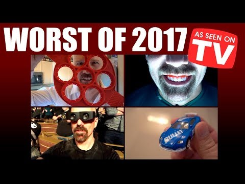 Top 10 Worst As Seen on TV Products of 2017