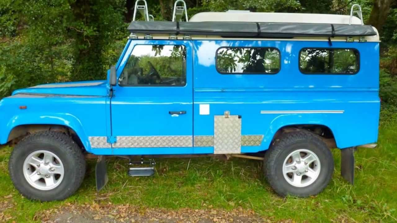 Land Rover 110 Defender Camper Slideshow - YouTube