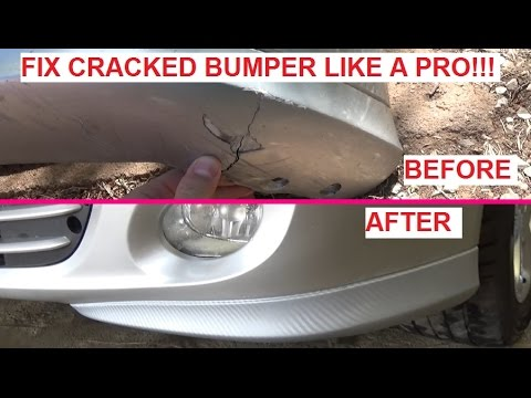 How To Fix Cracked Bumper Like A Pro Cheap And Looks