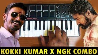 Kokki Kumar x Ngk Mass Bgm | Cover By Raj Bharath | #SURYA #DHANUSH