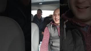 Киев сегодня. Часть 2. Беременная  в такси Уклон!