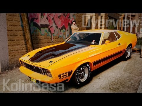 Ford Mustang Mach 1 1973 v2