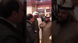 بالفيديو-مواطن إماراتي يستوقف السيسي خلال زيارته لأبوظبي موجهاً له رسالة
