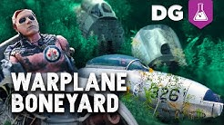 Ran When Parked? Uncovering Buried Secrets in a Warplane Graveyard