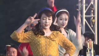 111112 T-ara-Roly Poly @KBS Love Jeju Island Concert