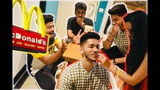 Prank calling McDonalds!! Hilarious ULTIMATE forfeit Jenga challenge!! *GONE WRONG*