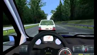 rfactor Corsa hatch 99 Vs Uno fire Turbo Gameplay
