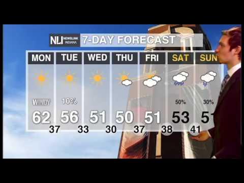 NewsLink Indiana Weather October 22, 2018   Jordan Verdeyen