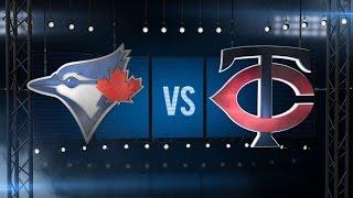 5/20/16: Blue Jays' bats clobber the Twins