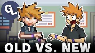 OLD vs. NEW Videos - GabaLeth Remake Compilation