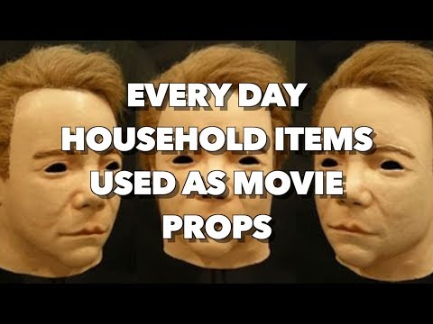 Every day household items used as Movie Props