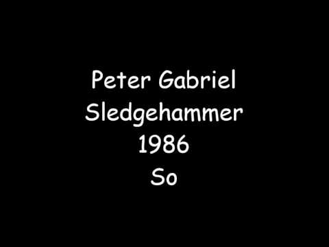 Peter Gabriel - Sledgehammer 1986 | Duisburg Records