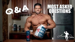 Questions a Pro Bodybuilder gets asked