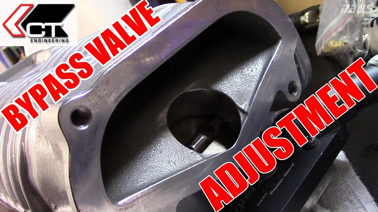 Blower Boost Control : How to adjust a supercharger bypass valve youtube
