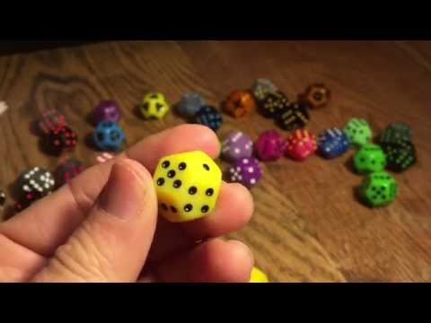 Colored Doublesix Dice samples