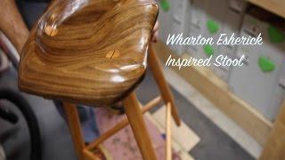 Wharton Esherick Inspired Stool