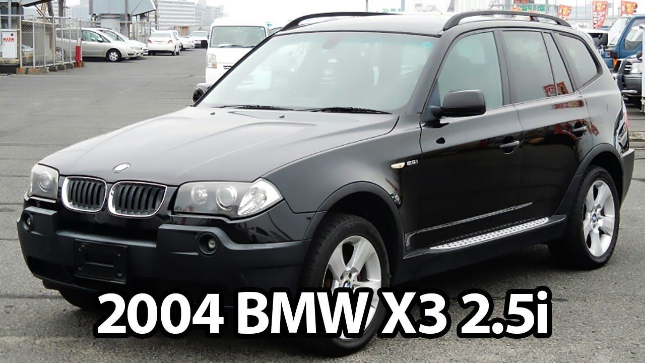 2004 Bmw X3 2 5i For Sale