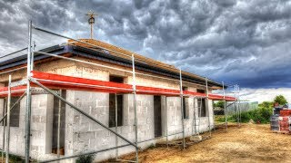 S01E57 Jak zamontować rynny? Budowa domu dzień po dniu. Ile kosztuje budowa domu? Dziennik budowy