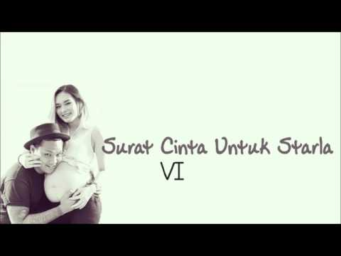 Virgon - Surat Cinta Untuk Starla ( Lirik )