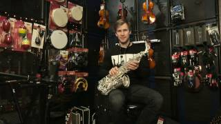 Обзор саксофона-альт Stagg WS-AS211S