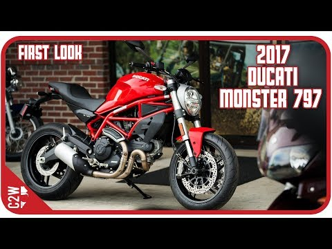 2017 Ducati Monster 797 | First Look