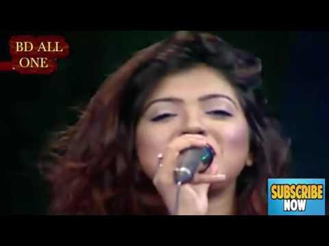 Aaj Keno Mon Udashi Hoye dur Ojanai Chai Harate   Live Concert by Mila   Live TV Concert   YouTube