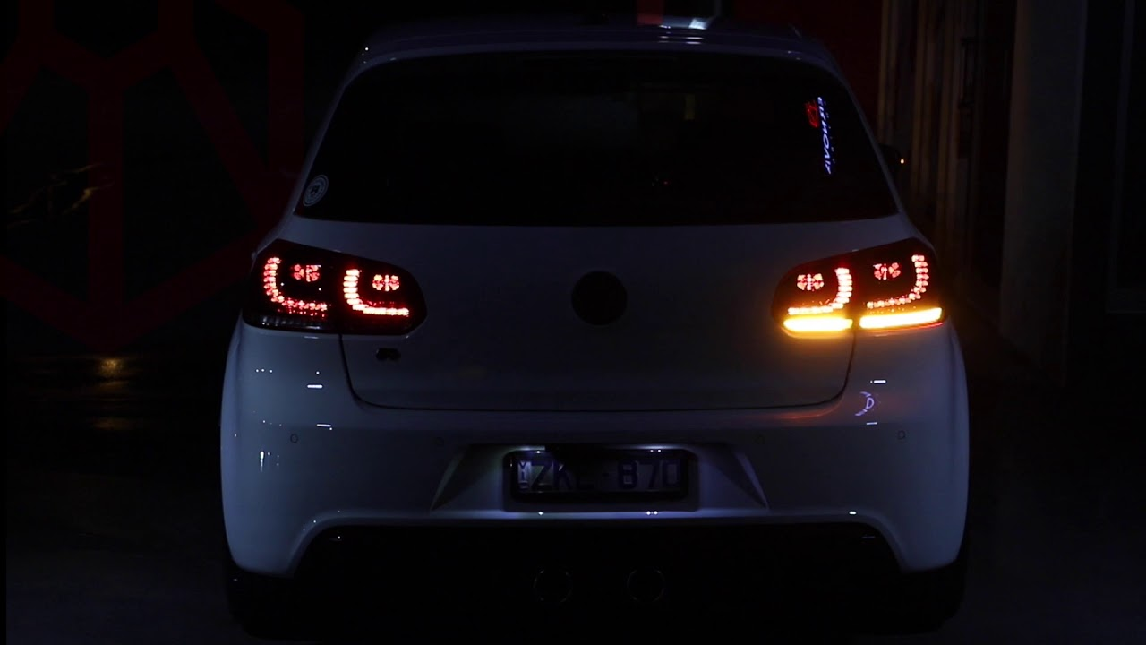 Vw Golf Mk6 Sequential Led Tail Lights Fits All Mk6